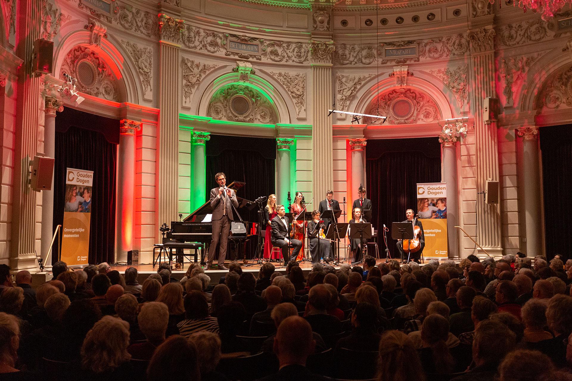 Gouden Kerstconcert met Wouter Harbers smaakt naar meer!