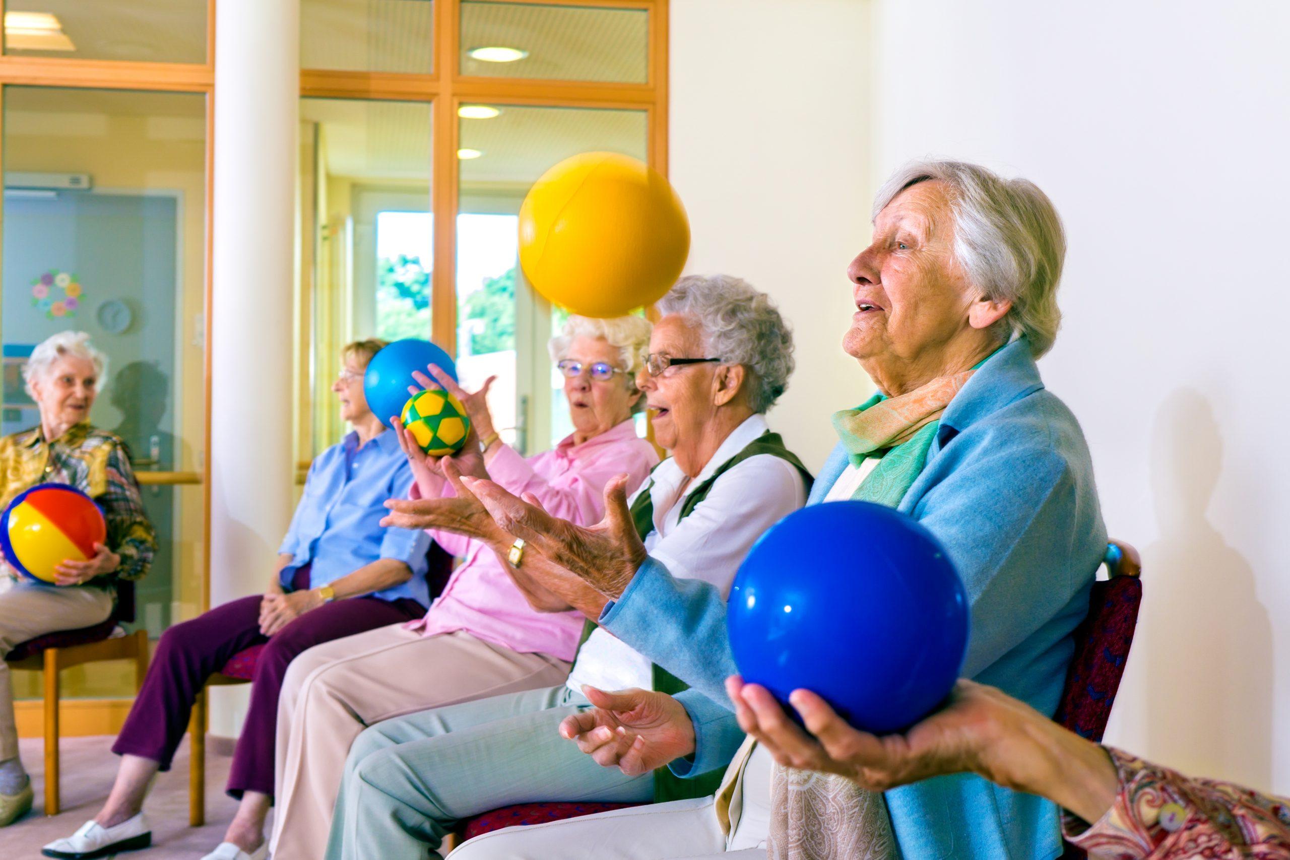 De VitaliteitSpelen brengt kwetsbare ouderen in beweging